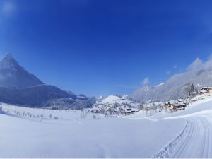 Winterlandschaft_Loipe_Vorderthiersee
